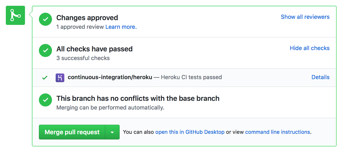 Heroku CI | Heroku Dev Center